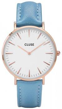 zegarek Rose Gold White/Retro Blue Cluse CL18033