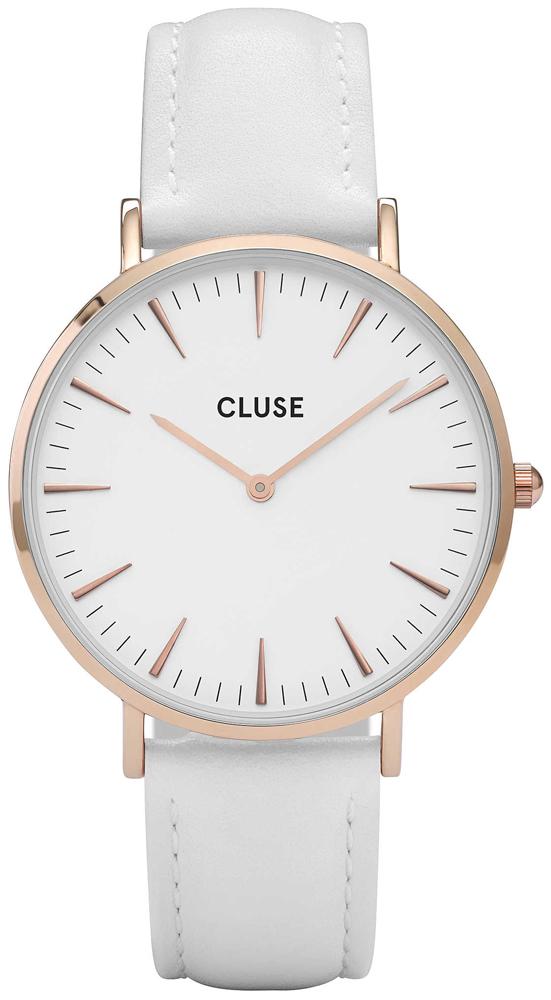 5073d2a9cc5b Cluse CL18042 Rose Gold White White zegarek damski - Sklep ZEGAREK.NET