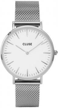 zegarek Silver/White Cluse CL18105