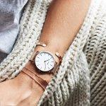 Zegarek damski Cluse la boheme mesh CL18112 - duże 2
