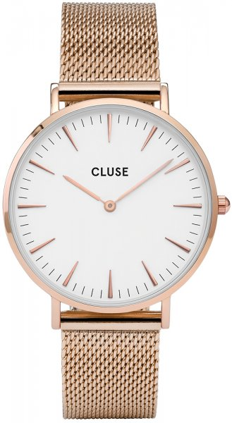 Cluse CW0101201001 La Boheme Rose Gold/White