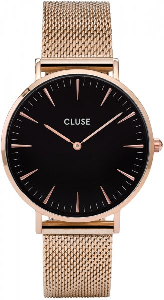Cluse CW0101201003 La Boheme Rose Gold/Black