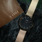 Zegarek damski Cluse la boheme mesh CL18113 - duże 5
