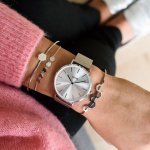 Zegarek damski Cluse la boheme mesh CL18114 - duże 5