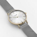Zegarek damski Cluse la boheme mesh CL18115 - duże 4