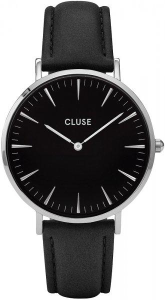 Cluse CL18201 La Boheme Silver Black/Black