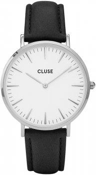 zegarek Silver white/Black Cluse CL18208