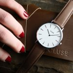 Zegarek damski Cluse la boheme CL18210 - duże 7