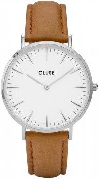 zegarek Silver White/Caramel Cluse CL18211