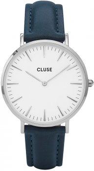zegarek Silver White/Petrol Cluse CL18216