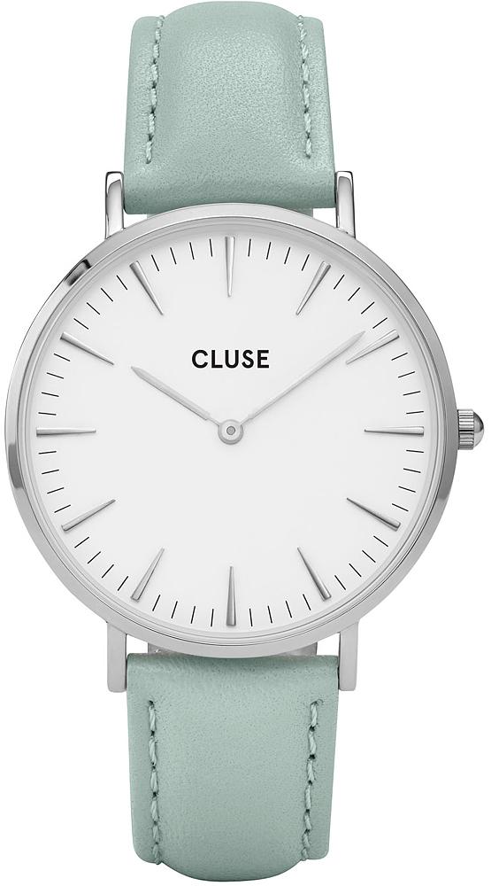 Cluse CL18225 La Boheme Silver White/Pastel Mint