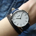 Zegarek damski Cluse la boheme CL18229 - duże 5