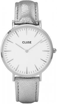 zegarek Silver White/Silver Metallic Cluse CL18233