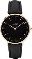 zegarek Gold Black/Black Cluse CL18401