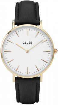 zegarek Gold White/Black Cluse CL18406