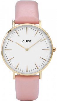 zegarek Yellow Gold White Pink Cluse CL18410