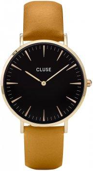 zegarek Gold Black/Mustard Cluse CL18420