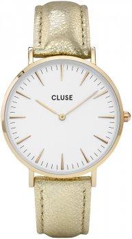zegarek Gold White/Gold Metallic Cluse CL18421