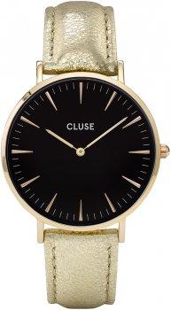 zegarek Gold Black/Gold Metallic Cluse CL18422