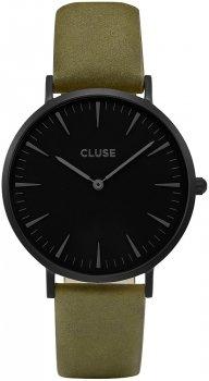 zegarek Full Black/Olive Green Cluse CL18502