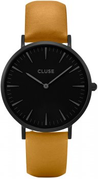 zegarek Full Black/Mustard Cluse CL18508