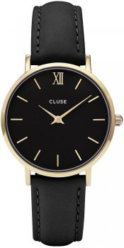 zegarek Gold Black/Black Cluse CL30004
