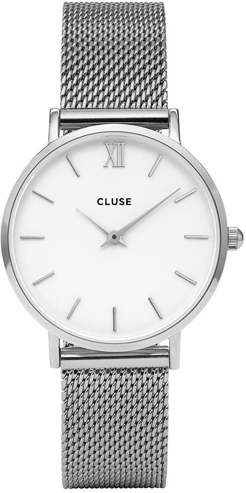 Cluse CW0101203002 Minuit Mesh Silver White