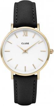 zegarek Gold White/Black Cluse CL30019