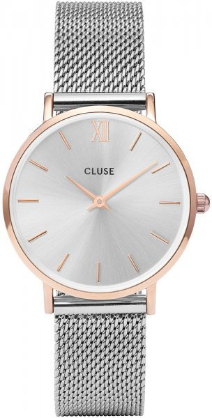 Cluse CW0101203004 Minuit Mesh Rose Gold/Silver