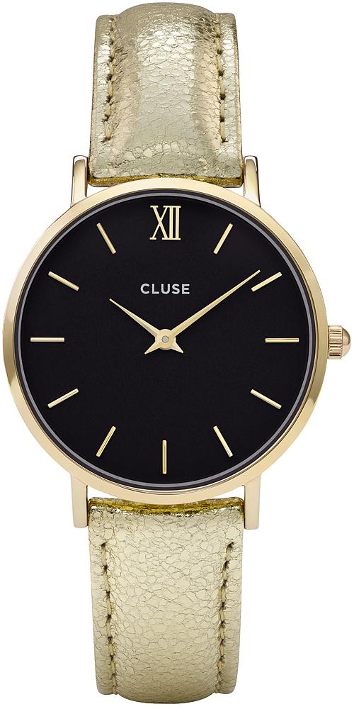 Cluse CL30037 Minuit Gold Black/Gold Metallic