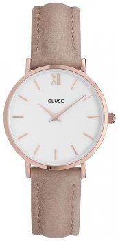 zegarek Rose Gold White/Hazelnut Cluse CL30043