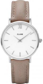 zegarek Silver White/Hazelnut Cluse CL30044