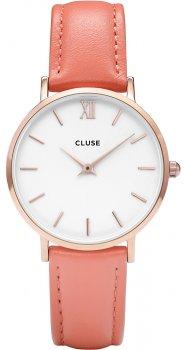 zegarek Rose Gold White/Flamingo Cluse CL30045