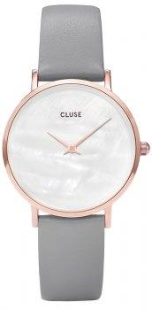 zegarek Rose Gold White Pearl/Stone Grey Cluse CL30049