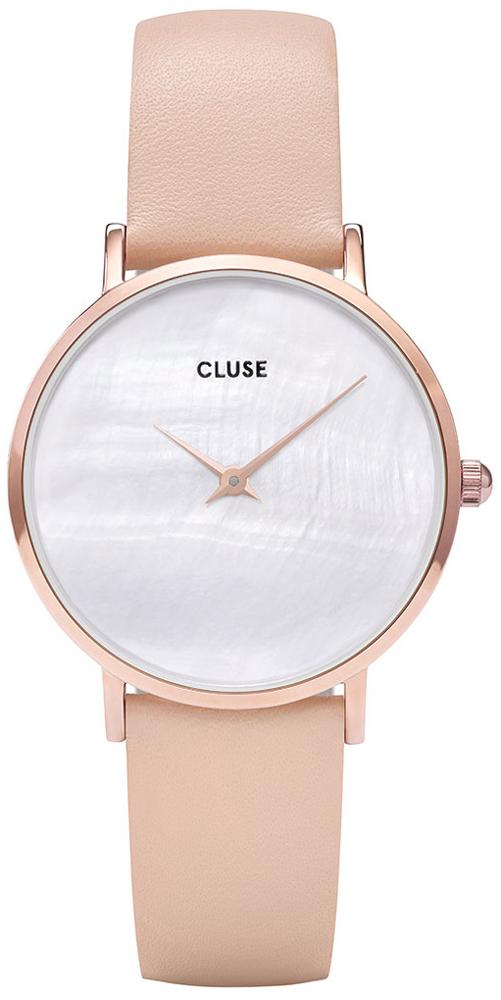 Cluse CL30059 Minuit La Perle Rose Gold White Pearl/Nude
