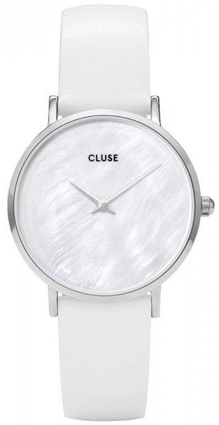 Zegarek Cluse La Perle Silver White Pearl/White - damski  - duże 3