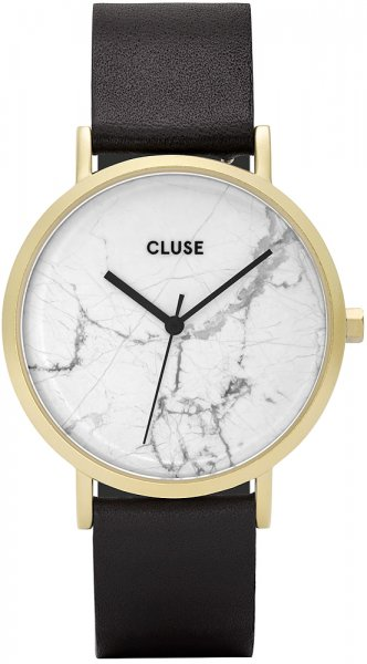 Cluse CL40003 La Roche Gold White Marble/Black