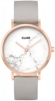 zegarek Rose Gold White Marble/Grey Cluse CL40005