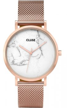 zegarek Mesh Rose Gold/White Marble Cluse CL40007