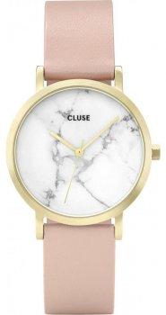 zegarek Petite Gold White Marble/Nude Cluse CL40101