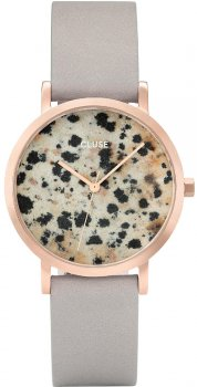 zegarek Petite Rose Gold Dalmatian/Grey Cluse CL40106