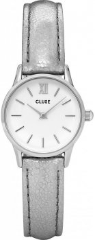 zegarek Silver White/Silver Metallic Cluse CL50021