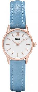 zegarek Rose Gold White/Retro Blue Cluse CL50026