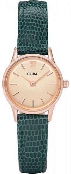 Cluse CL50029 La Vedette Rose Gold Champagne/Emerald Lizard