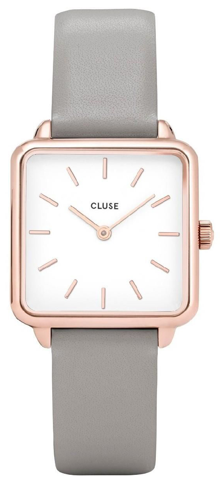 Cluse CW0101207004 La Tetragone Rose Gold White/Grey