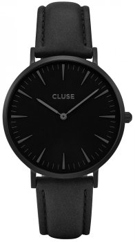 zegarek Full Black + Nude Strap Cluse CLA002