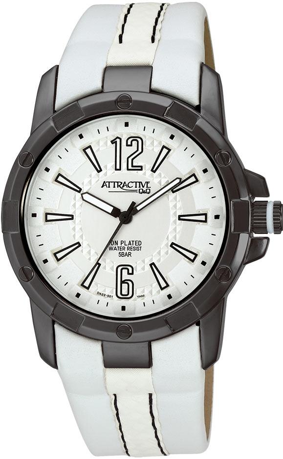 Zegarek męski QQ męskie DA22-501 - duże 3