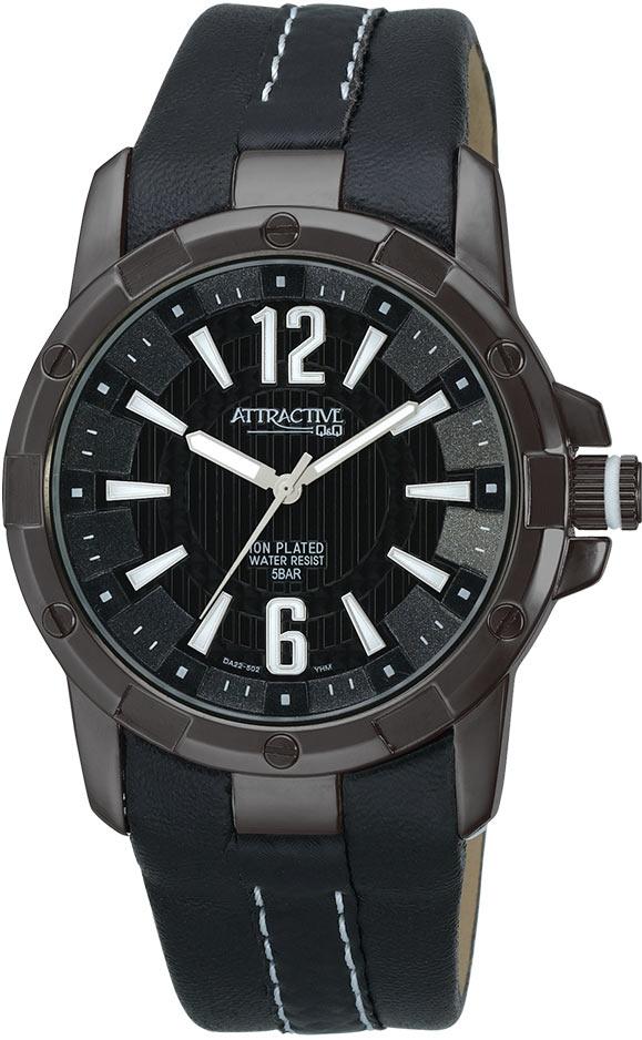 Zegarek męski QQ męskie DA22-502 - duże 1