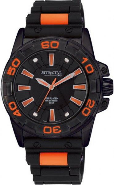 Zegarek męski QQ męskie DA32-502 - duże 1