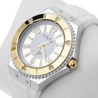 Zegarek damski QQ damskie DA37-504 - duże 2